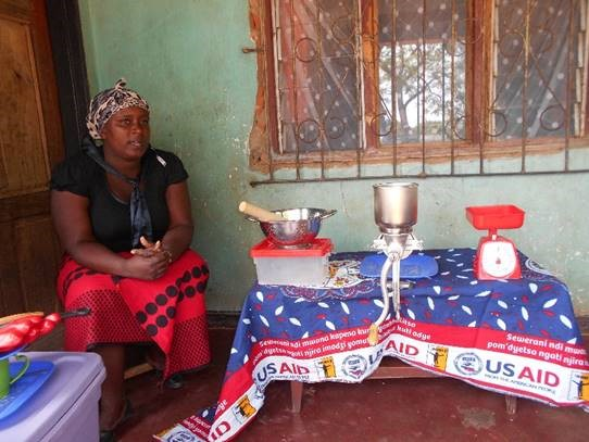 Soy kits offer a business opportunity for women. Source: AgDiv